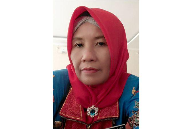 Sri Ambarwati, S.Pd.SD.;Guru SD Negeri 1 Bandungharjo
