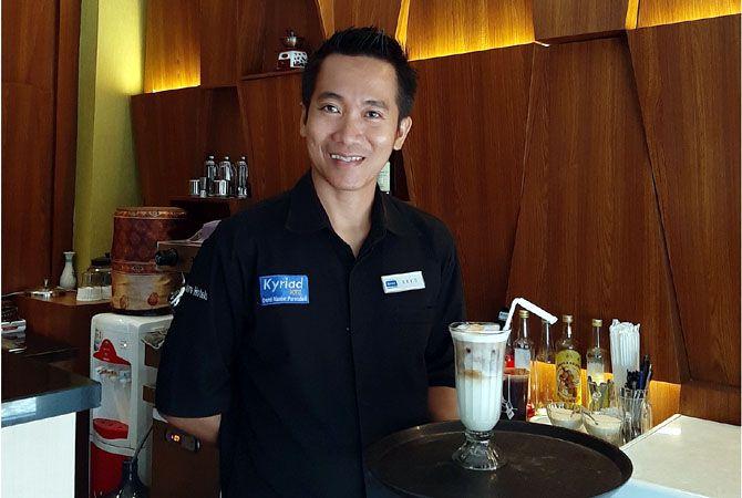 Erys Yanuar, Sebagai Food & Beverages Manager Kyriad Grand Master Hotel Purwodadi