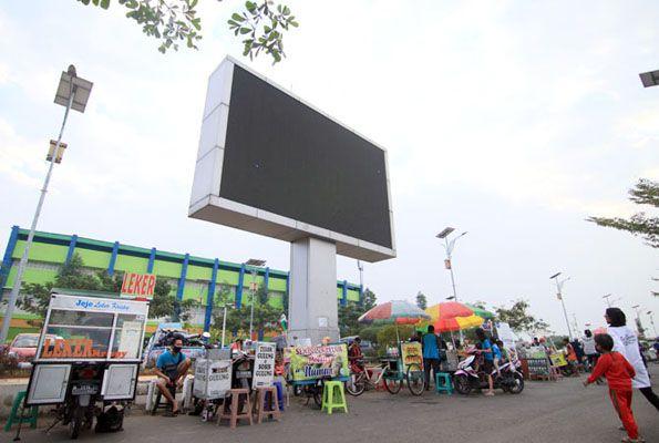 IZIN JUALAN: PKL Balai Jagong sudah berjualan. Tetap terapkan protokol kesehatan.