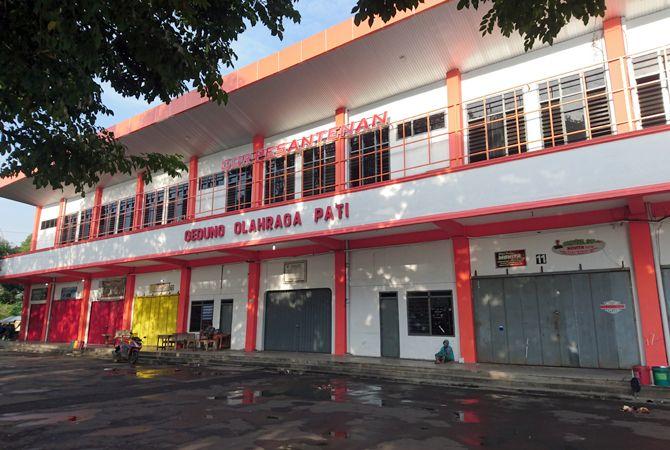 REPRESENTATIF: GOR Pesantenan akan menjadi salah satu venue pertandingan Porprov Jawa Tengah 2022 mendatang.