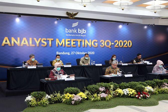 Triwulan III 2020, bank bjb Terus Tumbuh dan Catatkan Kinerja Positif