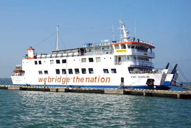 TAMBAH TRIP: KMP Siginjai melalukan penambahan trip dari Jepara menuju Karimunjawa dan sebaliknya.