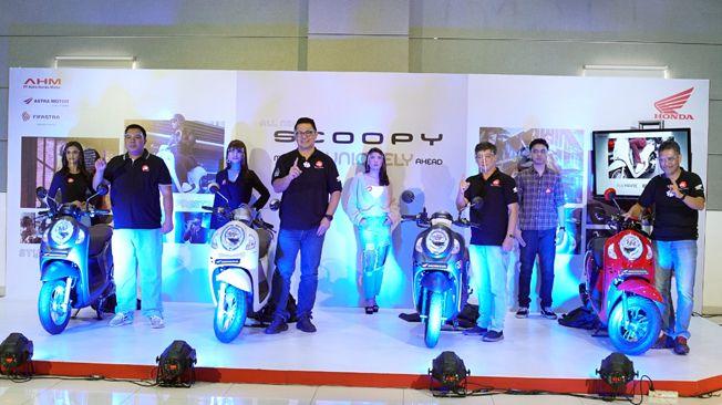 LUNCURKAN PRODUK BARU: Astra Motor pertama kali melakukan peluncuran motor secara virtual kepada masyarakat Jawa Tengah dalam virtual launching All New Honda Scoopy (21/11).