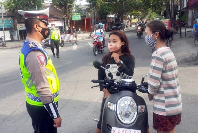 DITINDAK: Anak di bawah umur ditindak petugas SatLantas Polres Grobogan.