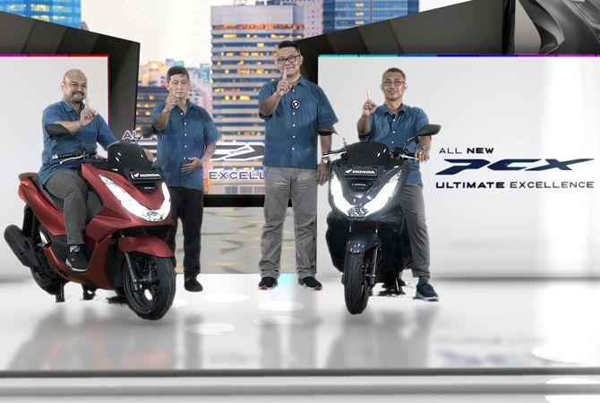 All New Honda PCX 160 Mewah Banyak Fitur Baru