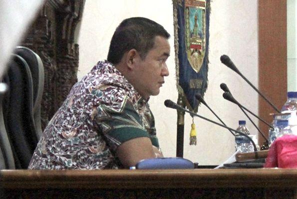 PELAPORAN: Rapat Paripurna DPRD Kudus dalam agenda penyampaian Laporan Keuangan Pemerintah Daerah (LKPD) 2020 kemarin.