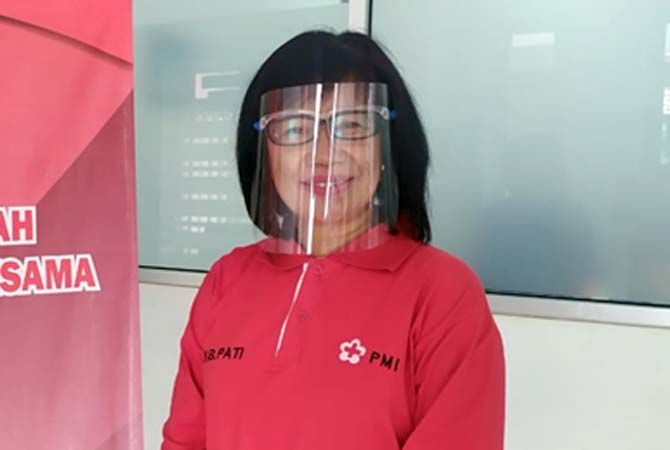 Syafaati, Humas UDD PMI Pati