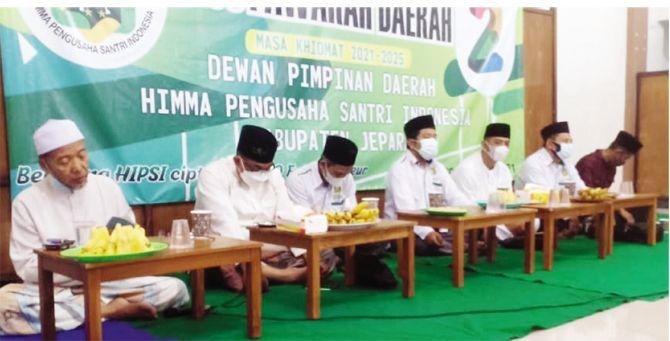 MUSYAWARAH: Musda Hipsi Jepara dipimpin DPW Hipisi Jateng 10 Juli lalu.