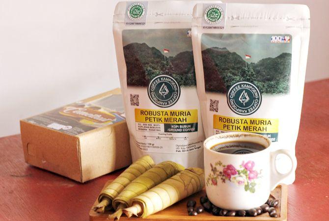NIKMAT: Aneka produk kopi berbagai jenis seperti robusta arabika dan liberika