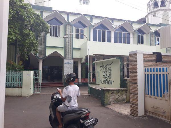 SEMPAT SINGGAH: Lokasi Masjid Al Furqon di Desa Burikan, Kecamatan Kota, Kudus, pernah diisi terduga teroris AR.