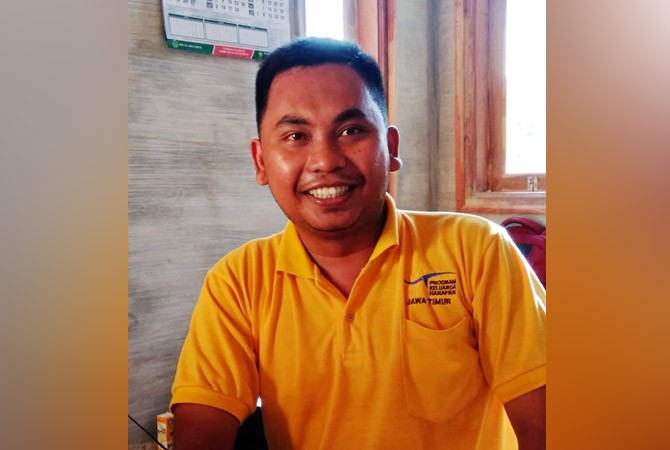 Koordinator penggalangan dana Mudhari
