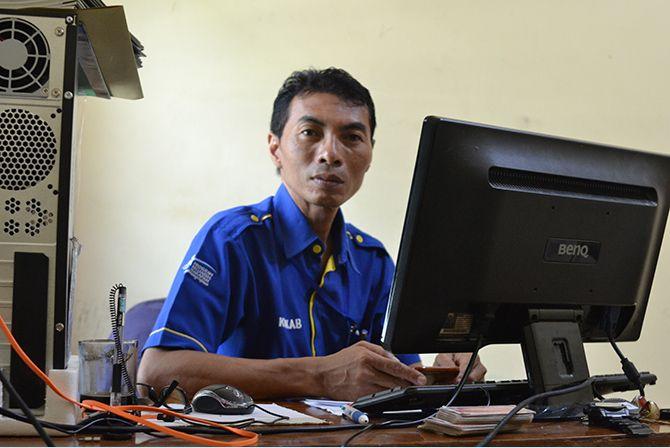 Heru Wahjudi  Korkab Pendamping PKH Bangkalan.