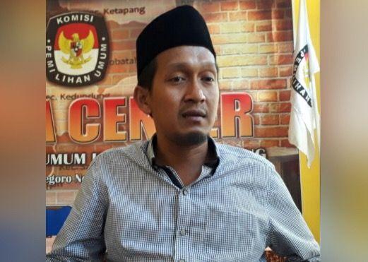Ketua KPU Sampang Syamsul Mu'arif.