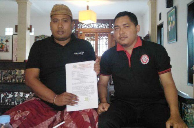 MENCARI KEADILAN: Moh Harno bersama kuasa hukumnya berencana mendatangi Mapolresta Tangsel.