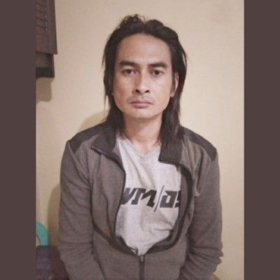 TERCYDUK: Ahmad Johan difoto polisi sebelum dimasukkan ke sel tahanan Polres Sumenep.