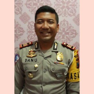 HUMBLE: Kasatlantas Polres Bangkalan-AKP Danu Anindhito Kuncoro Putro.