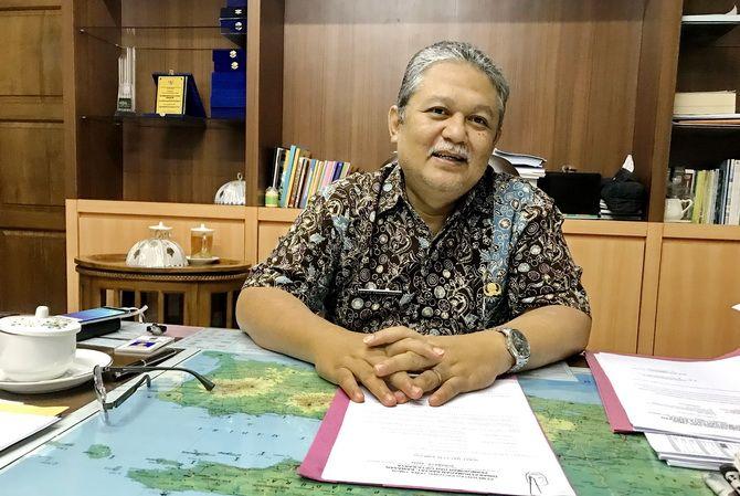 Sekretaris DPRKP dan Cipta Karya Jatim Baju Trihaksoro.