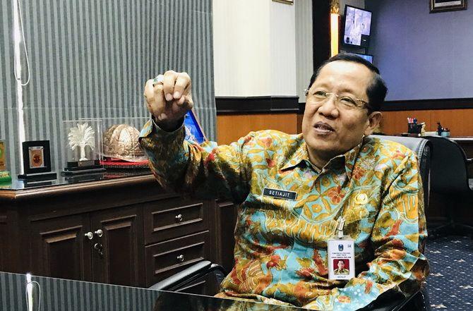 Kepala Dinas ESDM Provinsi Jatim Setiajit.