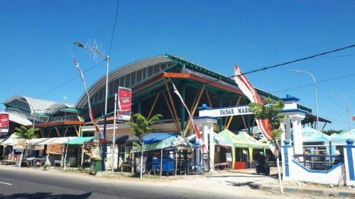 Sepi, Disporabudpar Sampang 'Sulap' Pasar Jadi Margalela Sae Ebher
