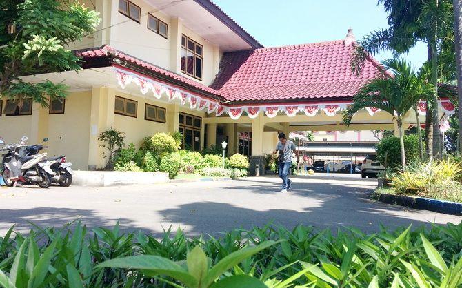 GEDUNG LAMA: Kantor DPRD Bangkalan bakal pindah ke Jalan Halim Perdanakusuma.