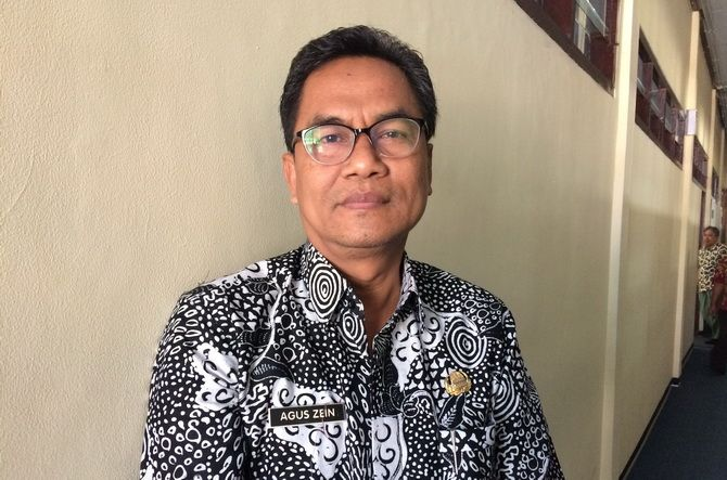 Agus Zein  Plt Kepala Diskominfo Bangkalan.