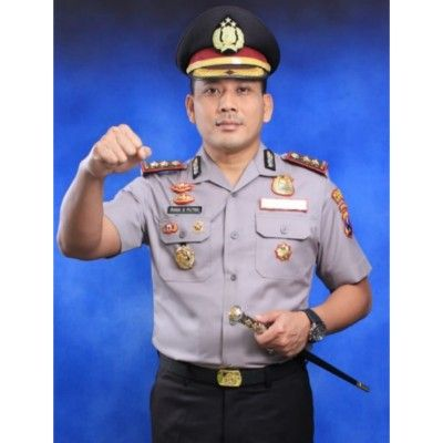 SEMANGAT MENGABDI: Kapolres Bangkalan AKBP Rama Samtama Putra.