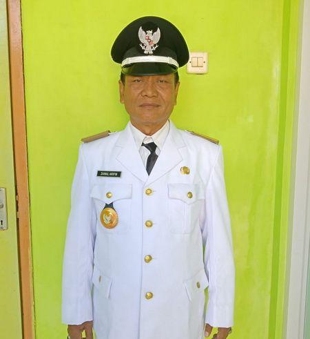 Zainal Airifin Kepala Desa Tajungan.