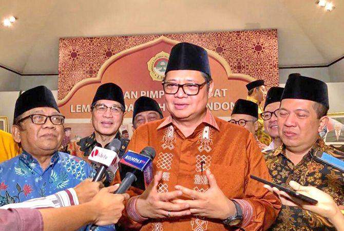 SOLUTIF: Menteri Koordinator Bidang Perekonomian Airlangga Hartarto.
