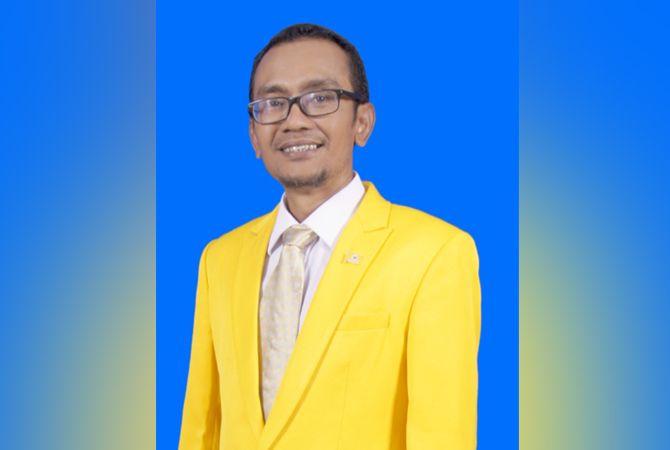OPTIMISTIS: Ketua DPD Partai Golkar Pamekasan Rize Ikhwan Muttaqin.