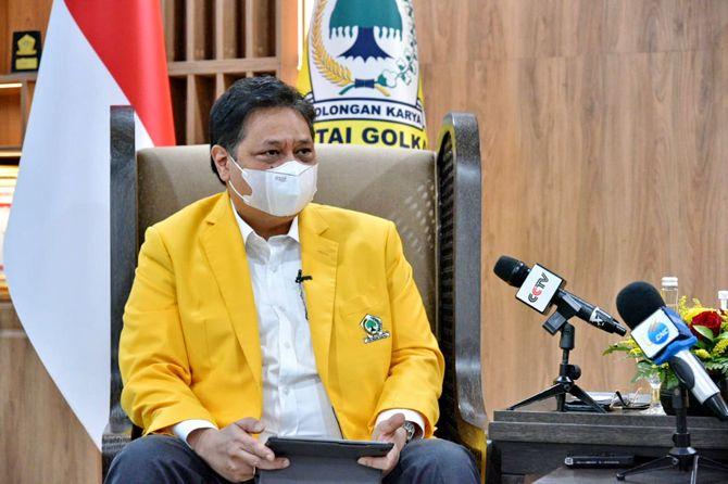 Ketua Umum DPP Partai Golkar Airlangga Hartarto.