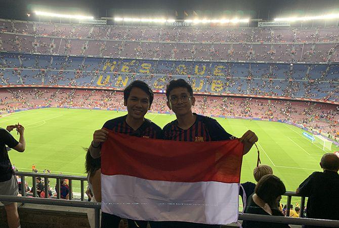 Nonton Lionel Messi setelah Penuhi Credit Point