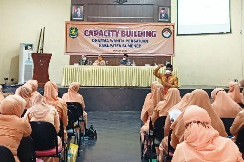 Pengurus DWP Sumenep Gelar Capacity Building
