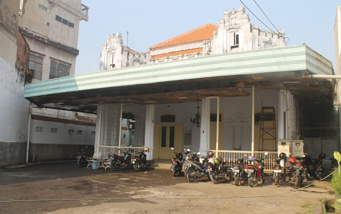 Rumah bangunan lama di Mojokerto sempat dijadikan Bung Tomo sebagai markas semasa pertempuran 10 November 1945.