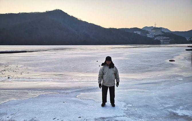 Nami Island, pulau ini menjadi tujuan utama wisatawan di Korea.