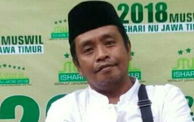 Ketua LPBI NU Kabupaten Mojokerto, Saiful Anam.