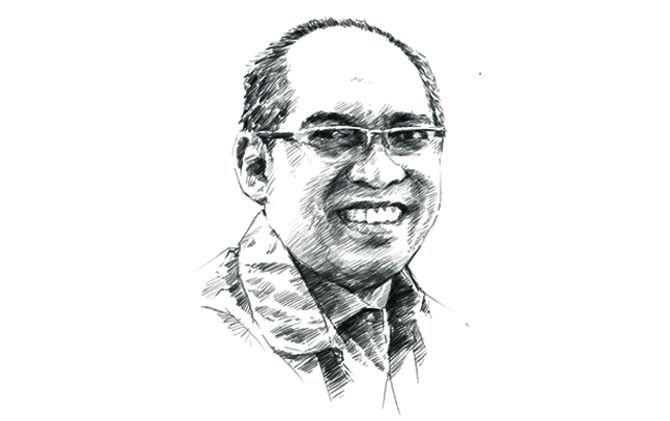 Direktur Jawa Pos Radar Mojokerto juga Ketua Aliansi Air Andung Achmad Kurniawan.