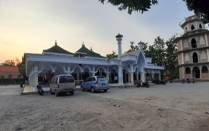 Masjid Al Musthofa di Desa Canggu, Kecamatan Jetis menjadi saksi bisu peninggalan syiar islam KH Musthofa di wilayah utara sungai.