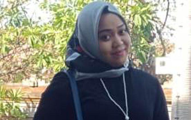 Eka Septya Juniarti, anggota Komisi I DPRD Kabupaten Mojokerto.