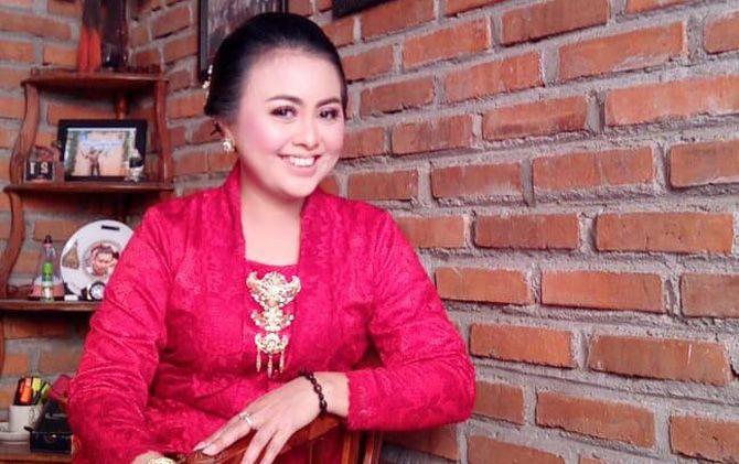 Eri Purwanti seusai menjalani proses pelantikan anggota DPRD Kota Mojokerto periode 2019-2020 tahun lalu.