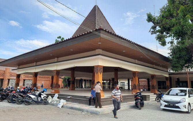 Proyek rehabilitasi Pendapa Rumah Dinas Wali Kota diperpanjang hingga 10 Desember mendatang.