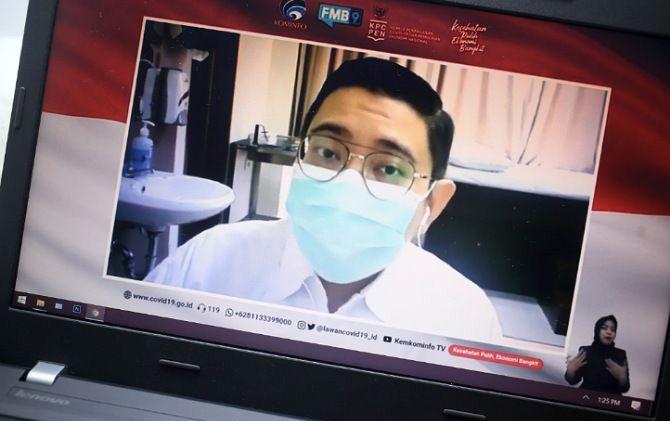dr Dirga Sakti Rambe (Dokter Spesialis Penyakit Dalam/ Vaksinolog) memberikan keterangan mengenai Setelah Vaksin Datang, Apa yang Perlu Disiapkan? di Jakarta, Senin (30/11).