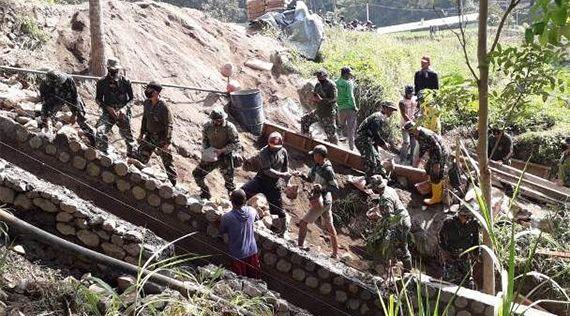 Operasi Bakti TNI, Garap Bendungan Sumber Lumpang