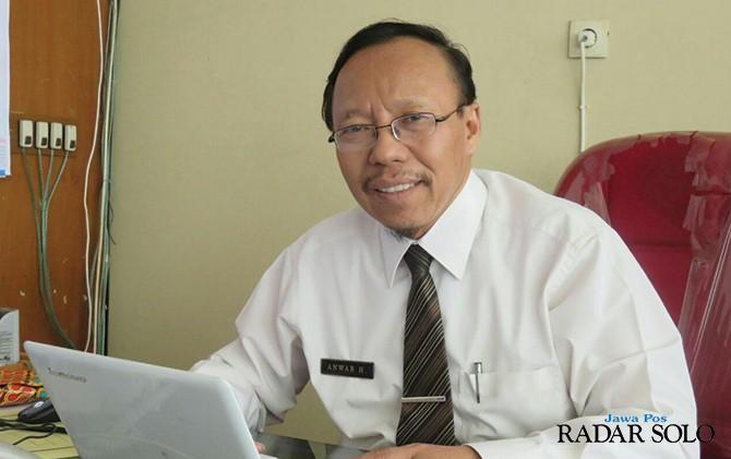 Anwar Hamdani,Ketua Pansel Sekda Solo.