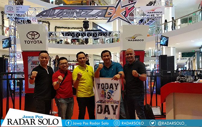 Suasana Avanza Day 2018 di The Park Mall Solo Baru, Minggu (25/11).