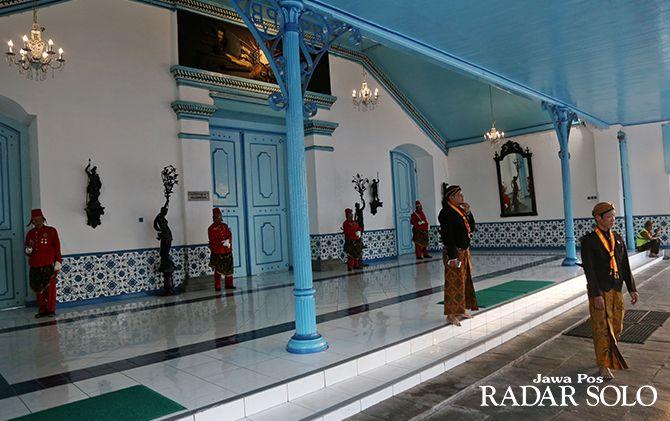 HERITAGE: Keraton Kasunanan Surakarta sebagai salah satu daya tarik wisatawan.