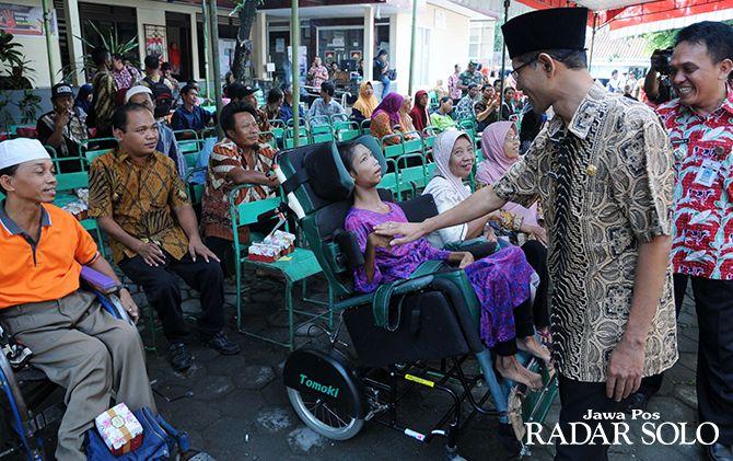 ABILITY: Peringatan Hari Disabilitas di Pendopo Kecamatan Sawit, Boyolali, Kamis (6/12).