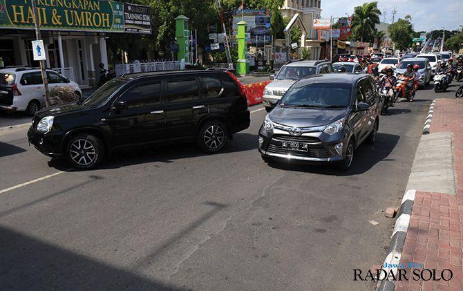 Picu Kemacetan, Pengendara Dilarang Putar Arah