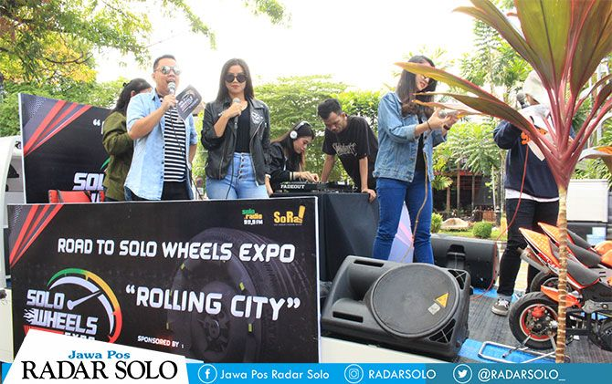Rolling city jelang Road to Solo Wheels Expo.