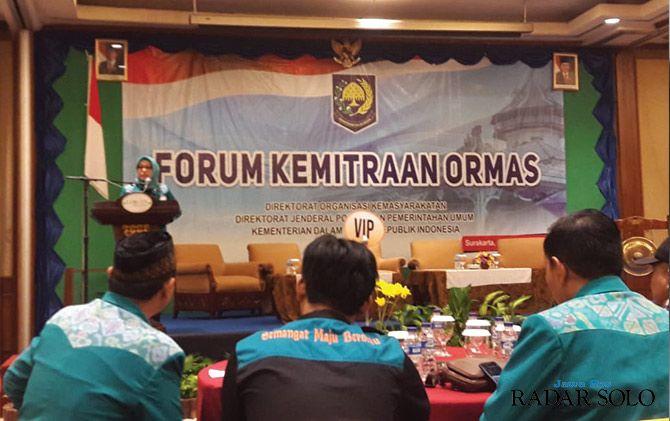MANDIRI: Forum Kemitraan Ormas di Lorin Solo Hotel.