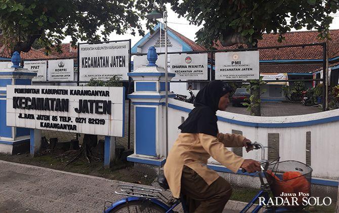 SEGERA DIREHAB: Kantor Kecamatan Jaten termasuk salah satu kantor yang akan dibangun tahun ini.